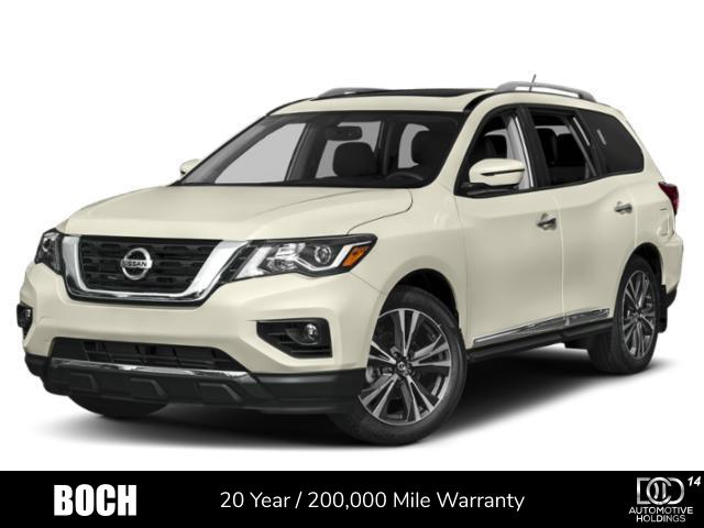 New 2019 Nissan Pathfinder 4x4 SV