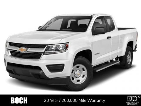 New 2020 Chevrolet Colorado 4WD Crew Cab 128 Work Truck 4WD