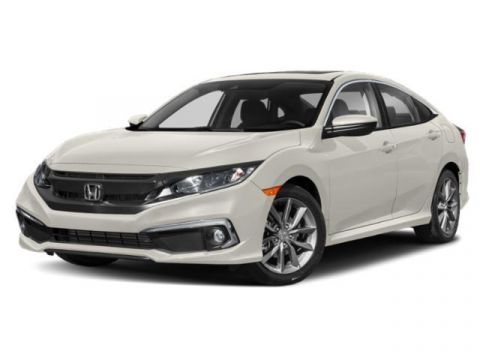 New 2020 Honda Civic EX-L CVT FWD 4dr Car