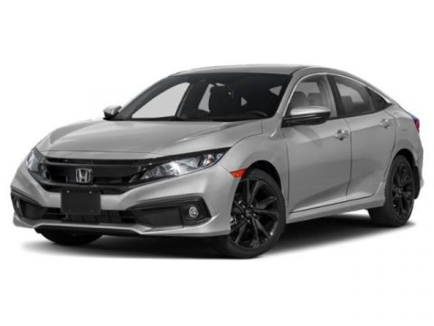 New 2020 Honda Civic Sport CVT FWD 4dr Car
