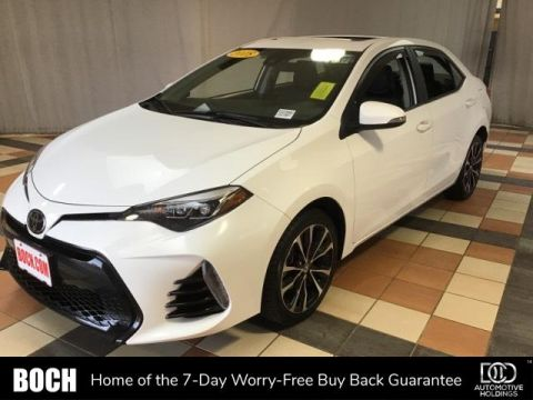 2018 Toyota Corolla SE Manual