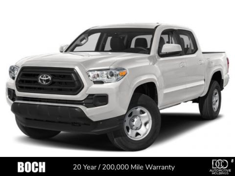 New 2020 Toyota Tacoma SR5 Double Cab 5' Bed V6 AT 4WD