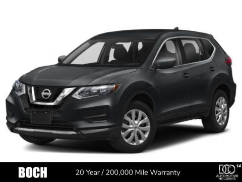 New 2020 Nissan Rogue AWD S AWD