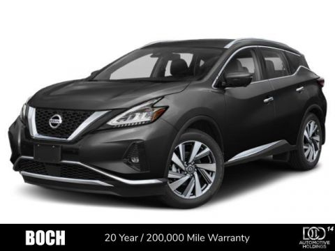 New 2020 Nissan Murano AWD Platinum With Navigation & AWD