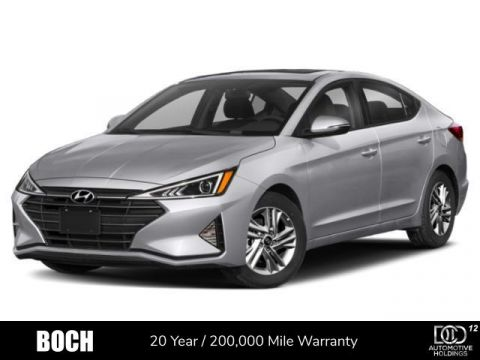 New 2020 Hyundai Elantra ECO DCT FWD 4dr Car