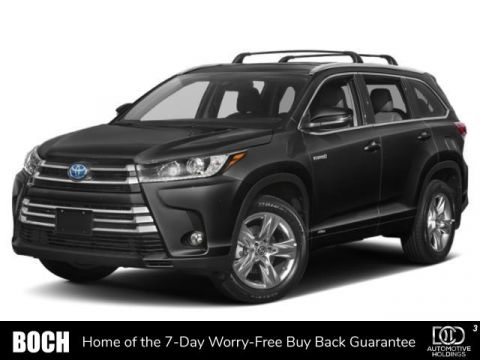 New 2019 Toyota Highlander Hybrid Limited Platinum V6 AWD With Navigation & AWD