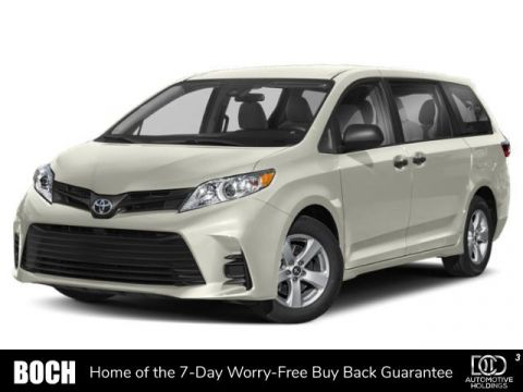 New 2020 Toyota Sienna Limited Premium AWD 7-Passenger With Navigation & AWD
