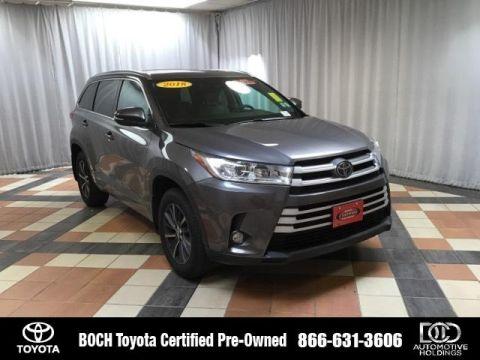 Certified Pre-Owned 2018 Toyota Highlander XLE V6 AWD AWD