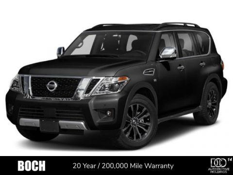 New 2019 Nissan Armada 4x4 Platinum With Navigation & AWD