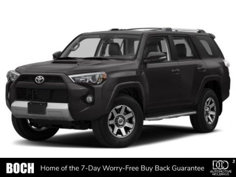 New 2019 Toyota 4Runner TRD Off Road 4WD 4WD