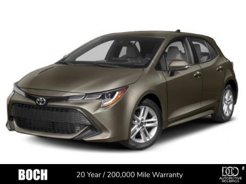 New 2019 Toyota Corolla Hatchback XSE Manual FWD 4dr Car