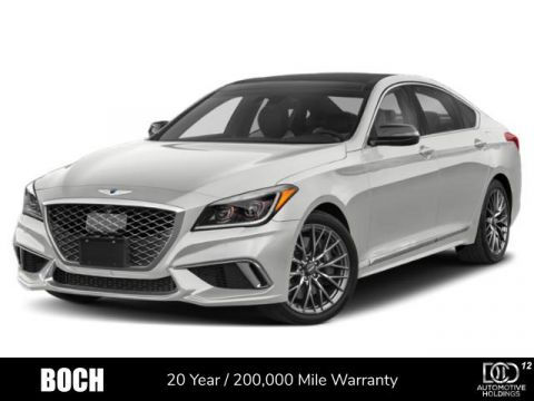 New 2020 Genesis G80 3.3T Sport AWD With Navigation & AWD