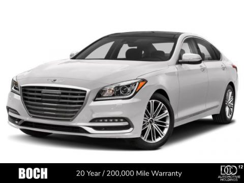 New 2019 Genesis G80 3.8L AWD With Navigation & AWD