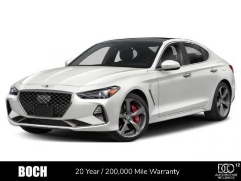 New 2020 Genesis G70 3.3T AWD With Navigation & AWD